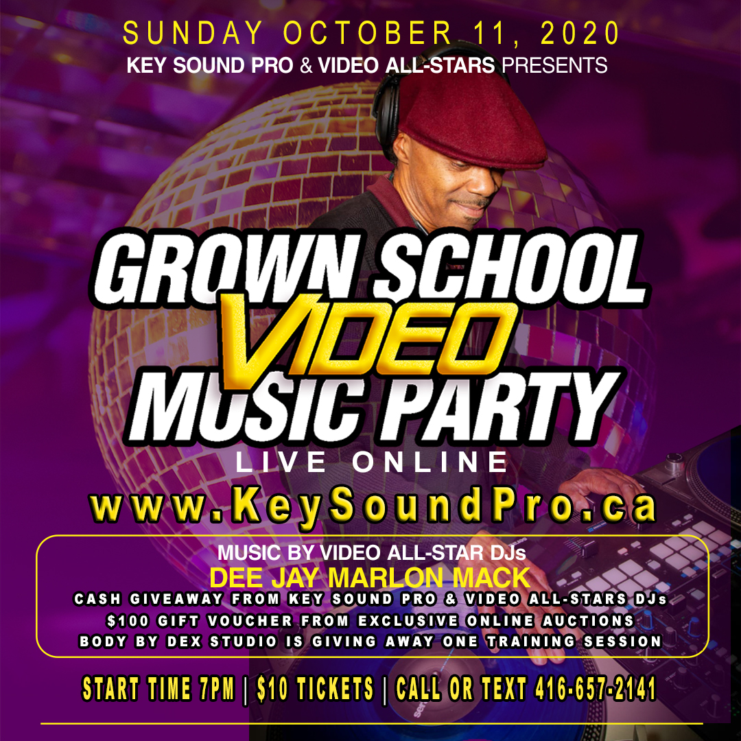 GROWN SCHOOL VIDEO MUSIC POPUP PARTY post thumbnail image